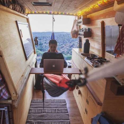 Converted Sprinter Vans - Filmmaker Cyrus Sutton Shows How He Lives on the Road in His Converted Van
