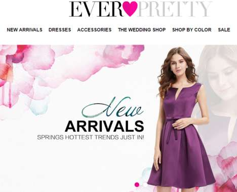 Review-Rewarding Dress Stores - The New Ever-Pretty Website Lets You Win Points For Leaving Reviews