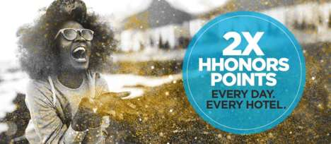 Upgraded Hotel Points Programs - Hilton's New Bonus Promotion Offers Double Points For Hotel Stays