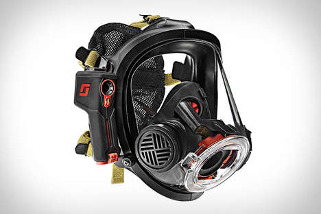 Smart Firefighter Masks - The Scott Sight Mask Utilizes Thermal Imaging to Protect from Smoke