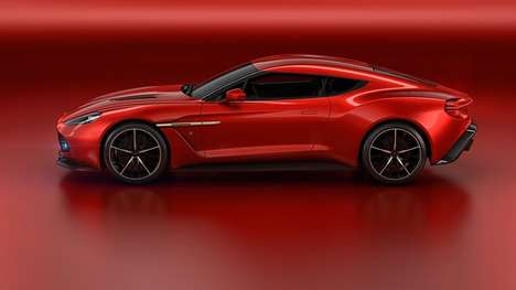 Wrapped-Window Cars - The New Aston Martin Vanquish Zagato Concept Features Stunning Design