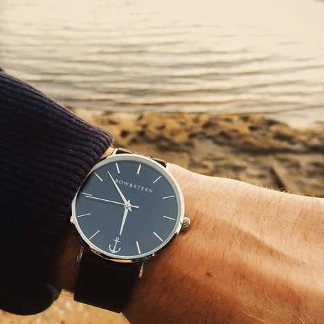 Minimalist Nautical Watches - These Classic Designs From Bow & Stern Offer a Lifetime Guarantee