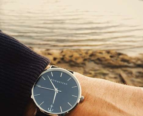 Minimalist Nautical Watches