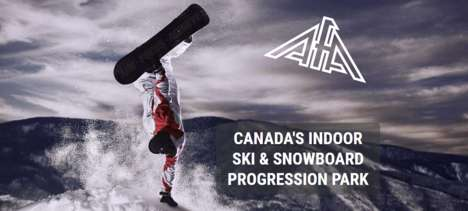 Indoor Skill Hills - This Indoor Training Facility is Designed for Skiers and Snowboarders