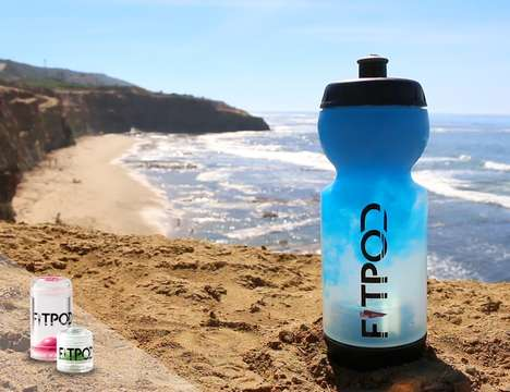Vitamin-Infusing Water Bottles - The 'FitPod' Healthy Hydration Bottle Infuses Nutrients into Water