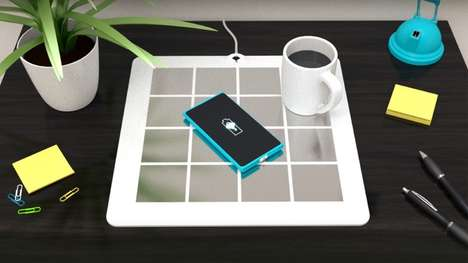 Multi-Device Wireless Charging Mats - The 'Energysquare' Works with Multiple Devices and Brands