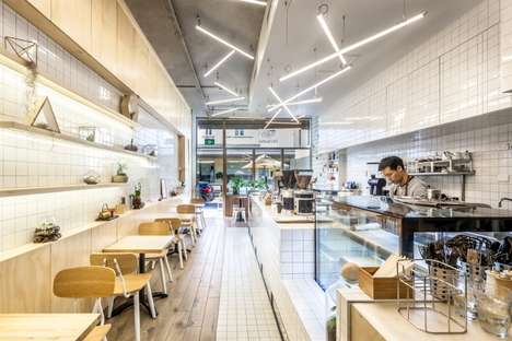 Moss-Covered Espresso Bars - Sydney's Elevation Cafe is a Charming Coffee Experience