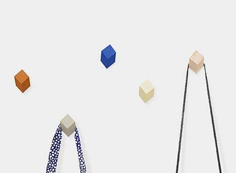 Powerful Geometric Hooks - The HAY Iso House Hooks Feature a Diamond Shape to Take on More Weight