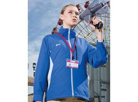 Air-Conditioned Work Jackets - The Kuchofuku Hooded AC Jacket Keeps Wearers Cool on Hot Days
