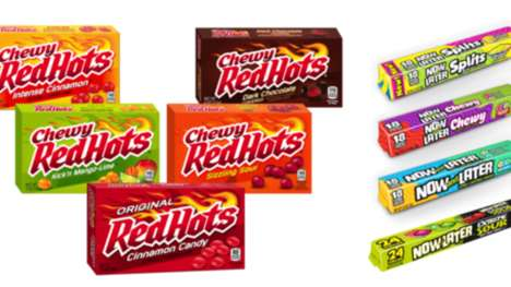 Revamped Candy Packaging Designs - The Updated Ferrara Candy Branding Targets Generation Z Consumers
