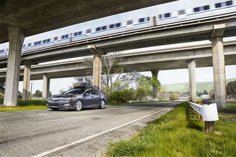 Automated Hybrid Vehicles - This Honda Acura RLX Hybrid Features Driver Assistance Technologies