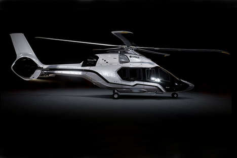 Luxe Composite Helicopters - The Airbus VIP Boasts Room for 12 Guests and a Tech-Enhanced Flight