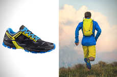 All-Terrain Mountain Sneakers - The Salewa Lite Shoes Are Designed for Rougher Running Paths