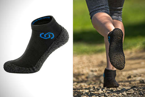 Fitted Sock Sneakers - The Skinners Athletic Socks are Designed to be Worn as Running Shoes