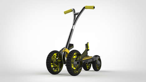 Rugged Training Scooters - The Hornet Scooter for Kids Helps Young Ones Find Their Balance