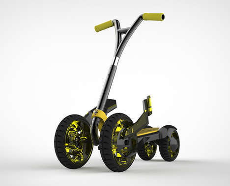 Rugged Training Scooters