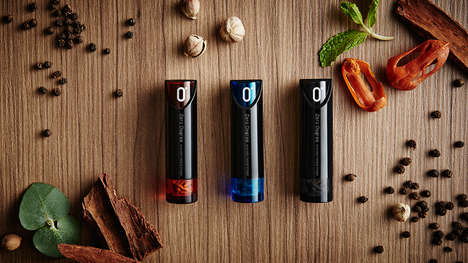 Aromatic Herbal Inhalers - The 'Zero Degree' Inhaler Design Provides Stress Relief Anywhere