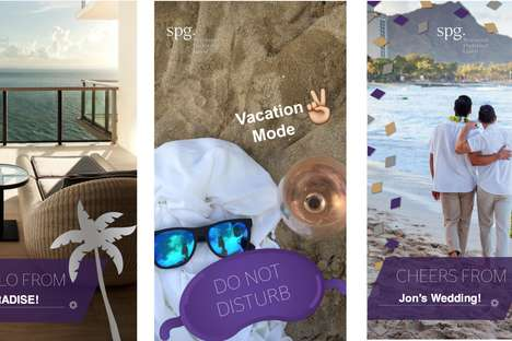 Snapchat Rewards Program Filters - Hospitality Group Starwood Has Launched a Series of Geofilters