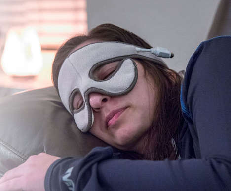 Allergy-Alleviating Masks - The 'Sniff Relief' Self-Heating Mask Provides Natural Congestion Relief