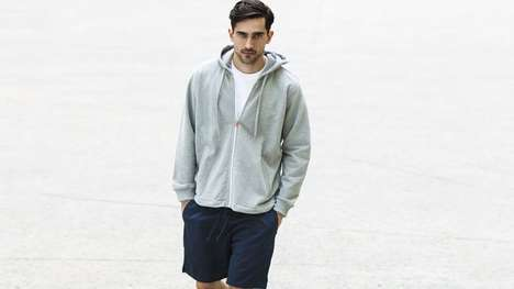 Temperature-Controlled Sweaters - Xavier Athletica's Hoodies Keeps Wearers Temperate After the Gym