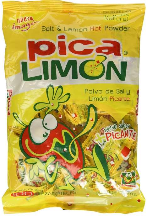 Spicy Lemon Candies - The Pica Limon Hot Powder Candy Focuses on Being Sweet and Spicy