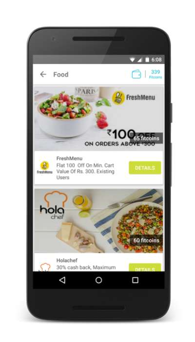 Fitness-Rewarding Apps - The Fitard Fitness App Lets You Redeem Your Steps Taken For Discounts
