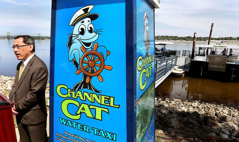 Discounted Water Taxi Apps - The Channel Cat Water Taxi App Includes Discount Offerings