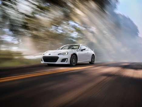 Supercharged Coupe Cars - The Upgraded Subaru BRZ Offers Boosted Handling and Balance