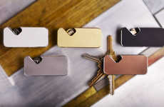 Swiveling Magnetic Key Wallets