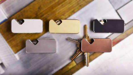 Swiveling Magnetic Key Wallets - This Swivel Key Wallet Holds Up to Six Separate Keys