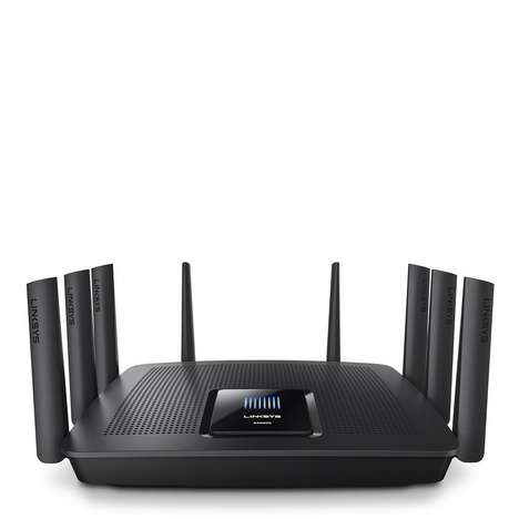 Blazing-Fast Encrypted Routers - The Linksys Max-Stream MU-MIMO Tri-Band Router is Powerful