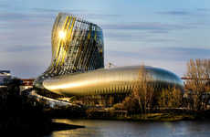 'La Cite Du Vin' is a Theme Park in France Dedicated to Wine