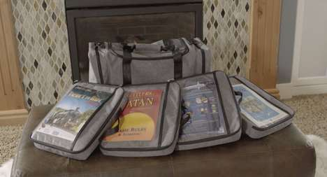 Board Game Storage Bags - The Keep Gear 'Gamefolio' System Keeps Board Games Organized