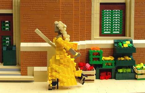 Reconstructed LEGO Music Videos - Veronica Watson Remakes Lemonade By Beyonce Using Building Blocks