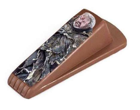 Giant-Honoring Door Stops - The Hodor Door Stop Helps You Remember the Game of Thrones Character