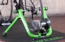 The Kinetic Road Machine Indoor Trainer Transforms Existing Bikes