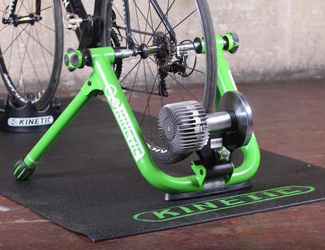 Indoor Bike-Mounting Units - The Kinetic Road Machine Indoor Trainer Transforms Existing Bikes