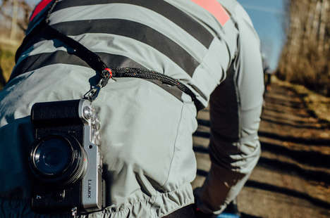 Cyclist Camera Straps - The Mettle Speed Strap for Cyclists Keeps Cameras within Reach