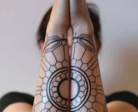 Geometrical Tribal Tattoos