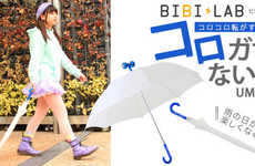 The Bibi Lab Korogasa Naito Rolling Rain Umbrella is Functional