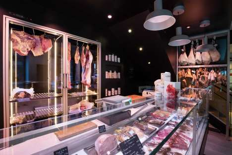 Hybrid Restaurant-Butcher Shops - This Toulouse Butcher Shop is Attached to a Restaurant
