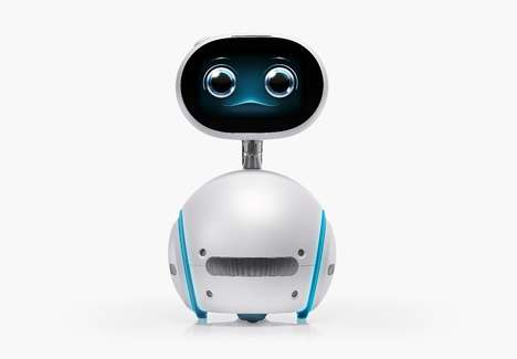 Cute Companion House Robots - The Asus 'Zenbo' Robot Device is Family-Friendly and Adorable