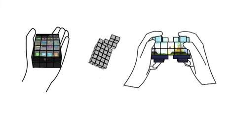 Shape-Shifting Touch Screens - Researchers Developed an Adaptable Touch Screen Prototype