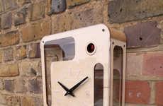 Modern Cuckoo Clocks - Designer Pedro Mealha Put a Twist on the Classic Cuckoo Clock