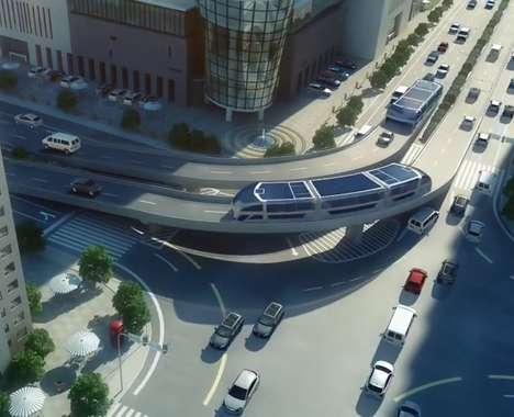Elevated Tunnel Buses