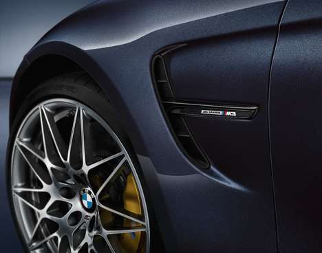 Commemorative Luxury Cars - The Limited Edition BMW M3 Jahre Offers High Speed and Great Handling