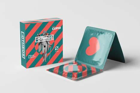 Mythology Contraceptive Packaging - The Otheos Condom Packaging is Inspired by Ancient Greek Gods