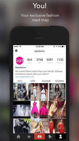 Advisory Fashion Apps - The Styledotme App Helps You Crowdsource Style Tips From Experts