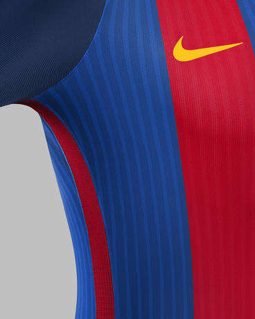 Vintage Catalan Soccer Apparel - The New FC Barcelona Jersey is Inspired By Vintage Soccer Fashion