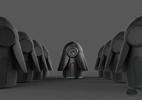 Sith Smart Home Cameras - The Star Wars 'Home Cam' Keeps an Eye on Things When You Aren't Around